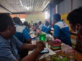 PSP SPN PT. Wilmar grup Dumai-Pelintung Inisiasi Rapat Antar Pengurus