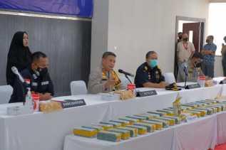 Hari Kesepuluh Operasi Antik,Polda Riau Sita 40 Gram Sabu Dan 50.000 Butir Ekstasi