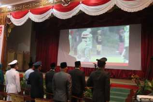 Kapolres Dumai Laksanakan Upacara Bersama Walikota, Forkopimda dan Veteran secara Virtual