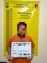 Tim Opsnal Polsek Bukit Kapur Bekuk Pengedar Narkotika Jenis Shabu