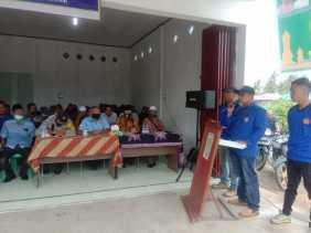 Pengurus Karang Taruna Kirana Sejahtera Bangsal Aceh Resmikan Sekretariatnya