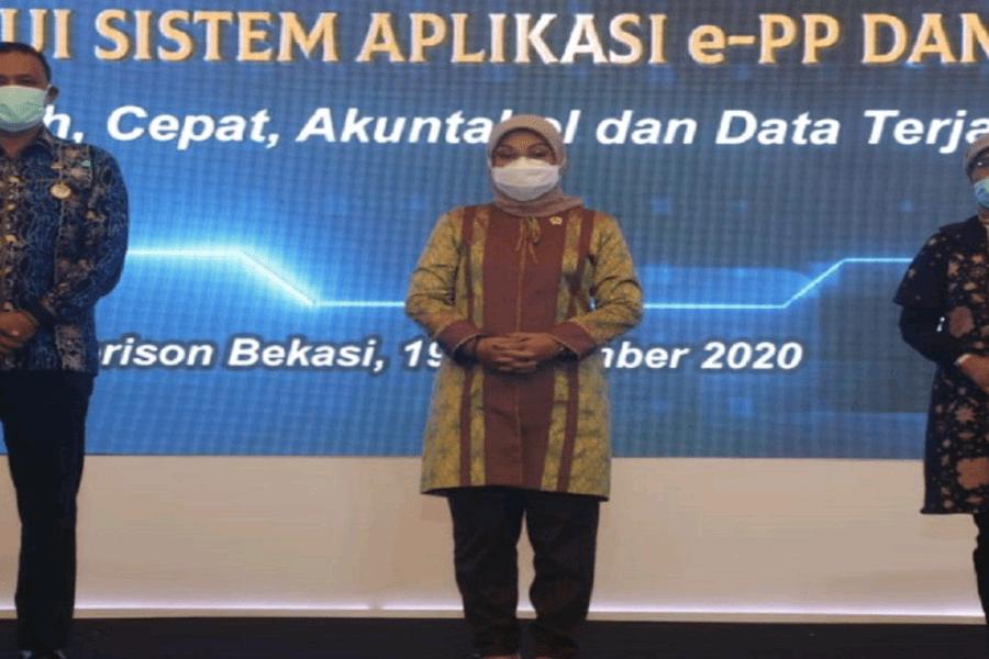 Menaker Resmikan Peluncuran Layanan Online PP Dan PKB