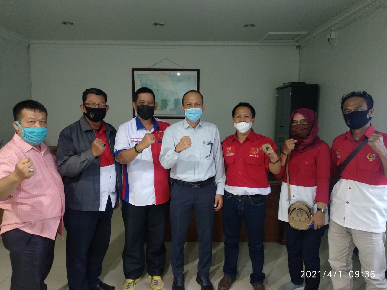 DPC PWRI Audiensi Bersama GM Wilmar Group
