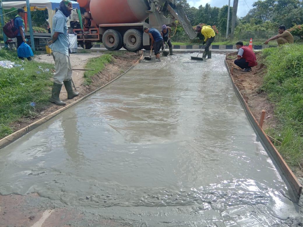 Kabid Bina Marga PUPR Dumai Tanggapi Keluhan Masyarakat Gg.Tanjung sari