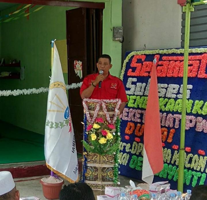 Ketua DPD PWRI Riau Bersedia Di Suntik Vaksin Oleh Satgas Covid-19 Riau