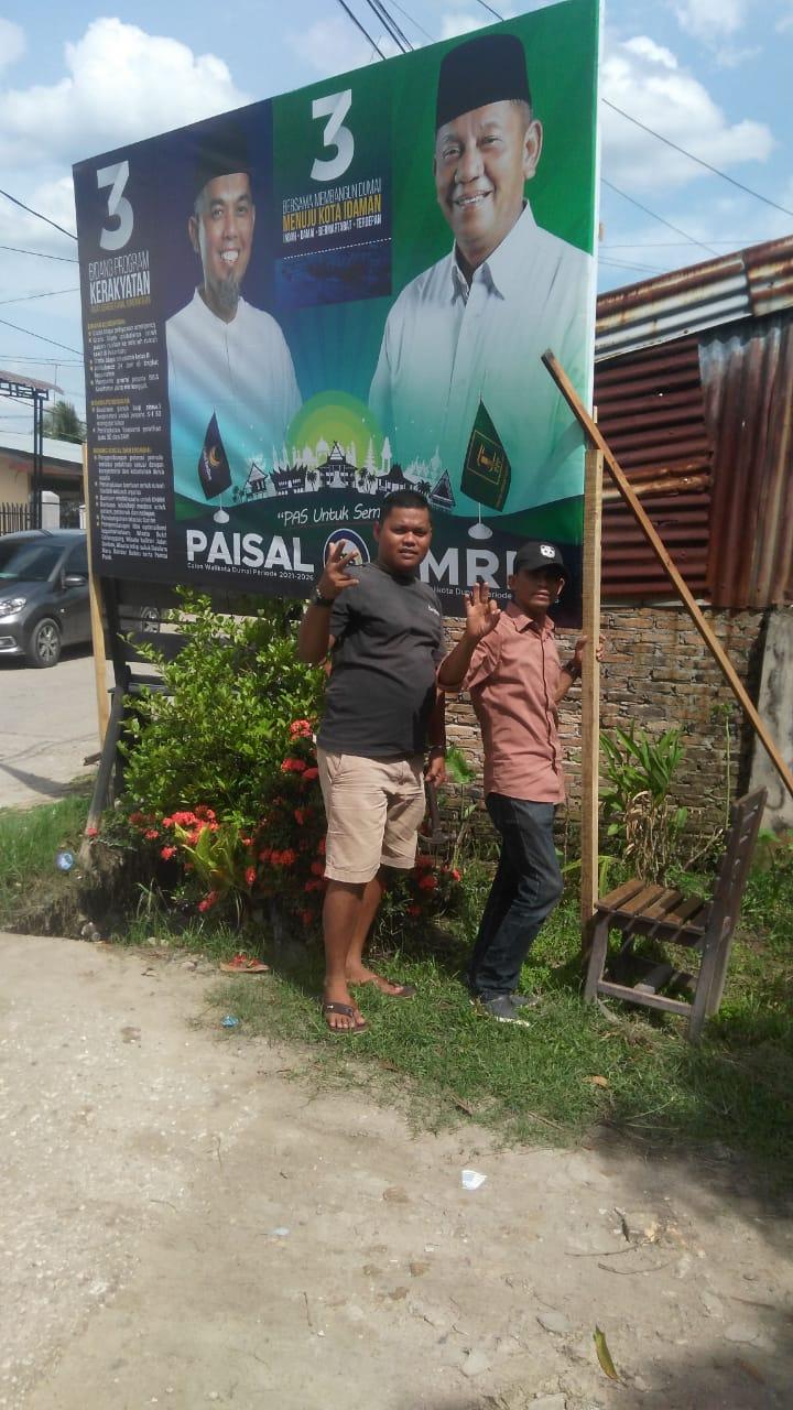 Koordinator Tim Kelurahan Sukajadi siap Menangkan Paisal-Amris
